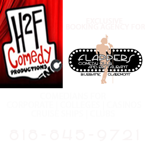 b8df1b70ba4 H2F Comedy Prods · About Us · Contact Us · Flappers Comedy Club